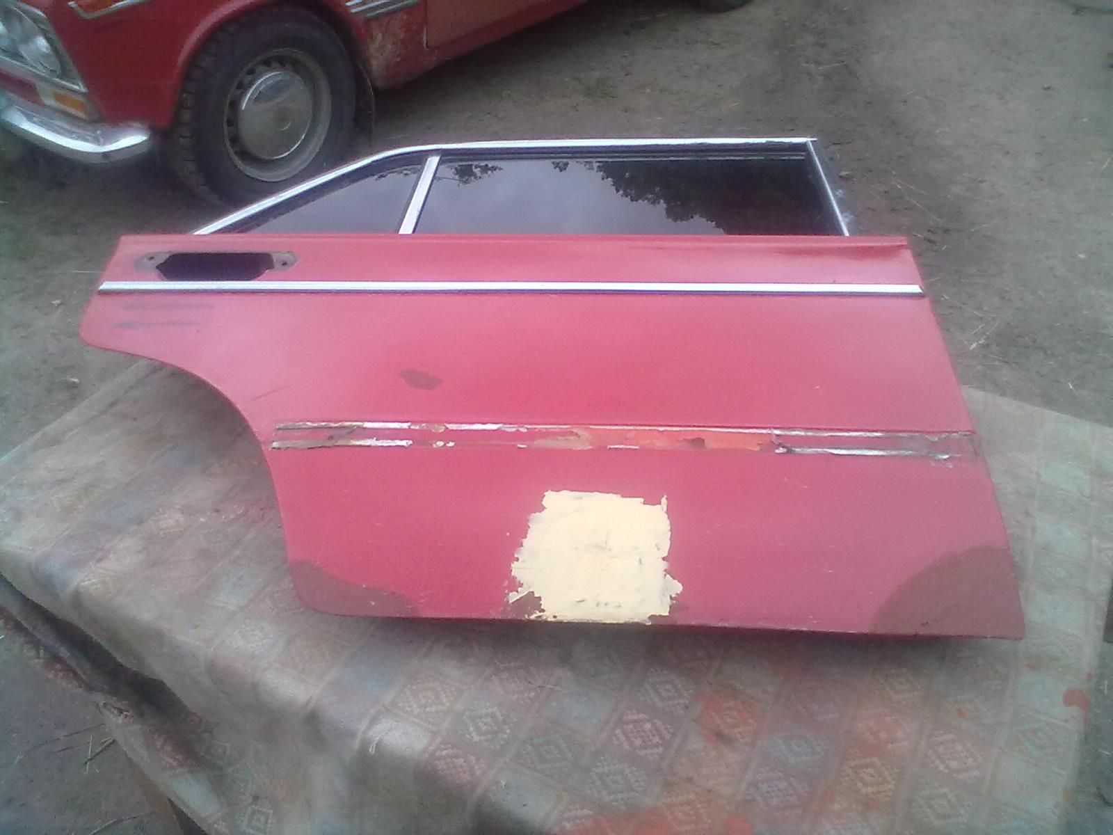 Подготовка к покраске двери ВАЗ 2103, 2106