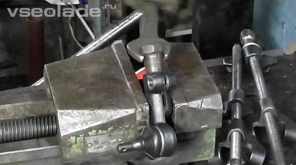 наконечник рулевой тяги Лада Калина