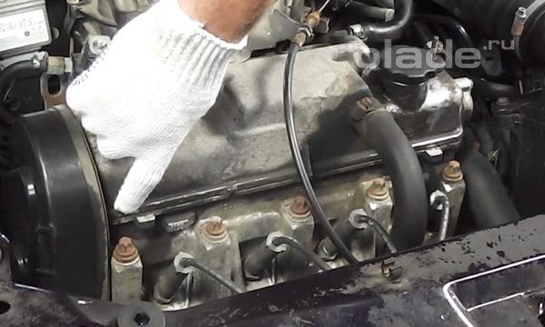 Прокладка клапанной крышки двигателя Лады