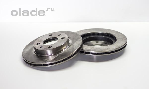 Передние тормозные диски Лады