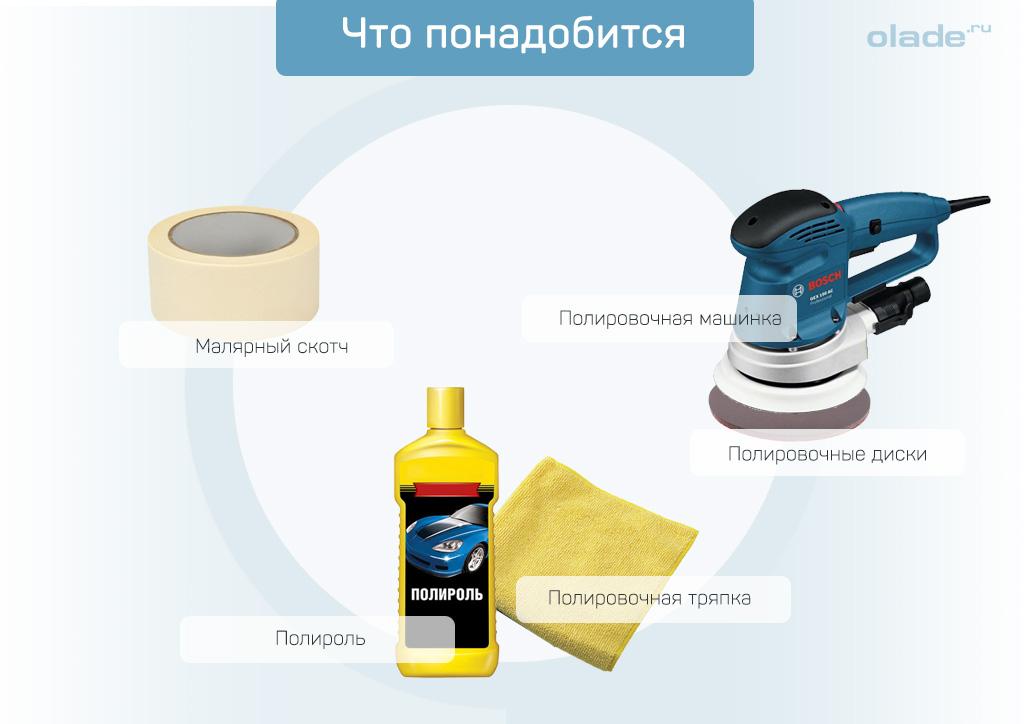 Полезные советы при полировке фар своими руками