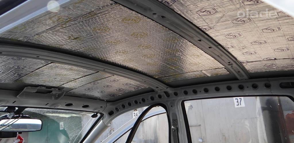 Демонтаж обшивки крыши Лада
