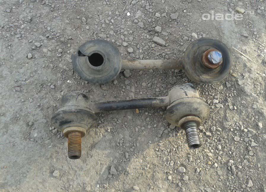 Lada Vesta. Стойки стабилизатора. Диагностика (фото 3)