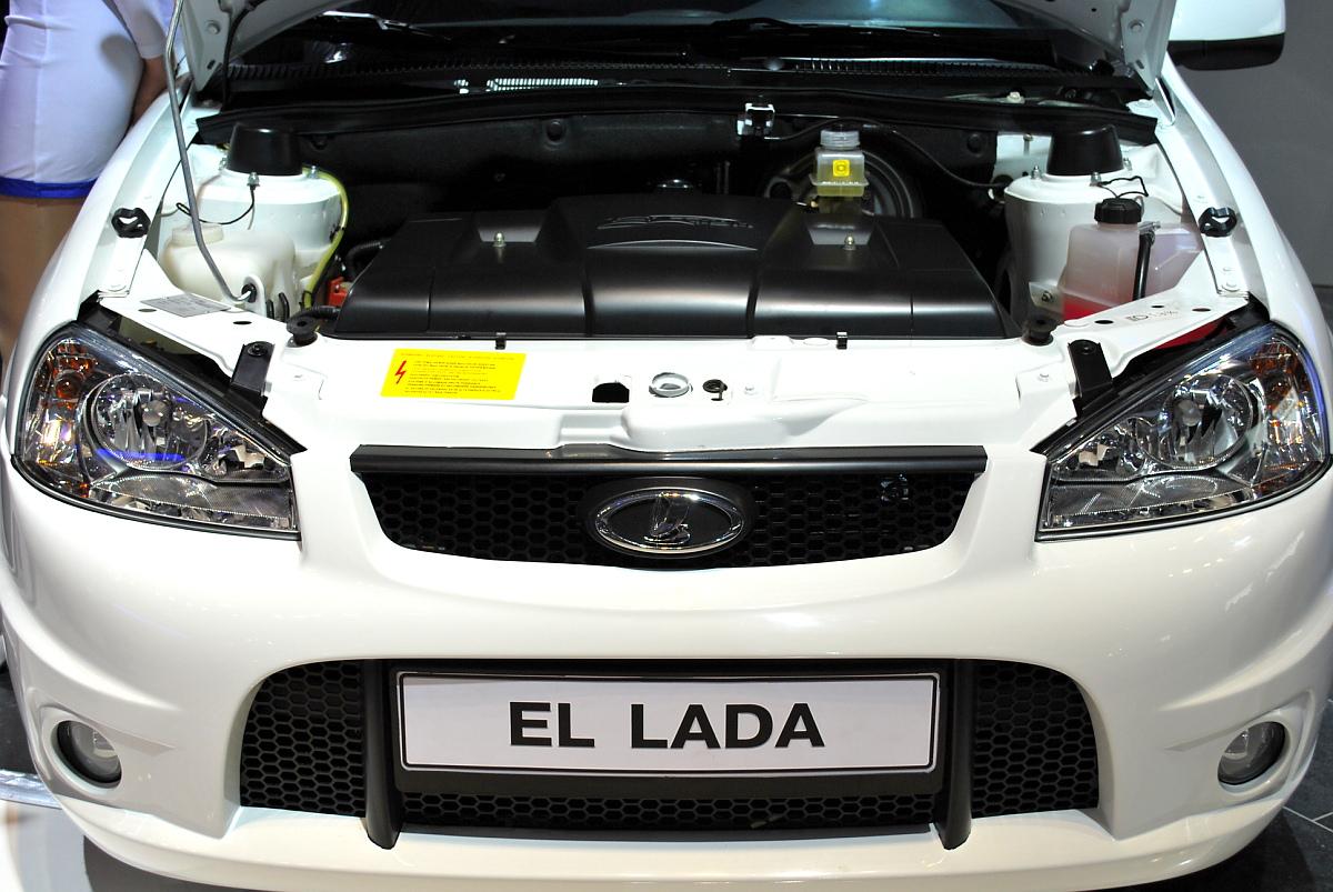 Русские электромобили Лада Эллада (фото 1)