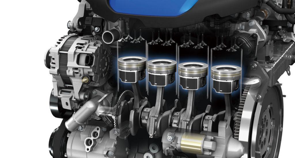 Двигатель в авто