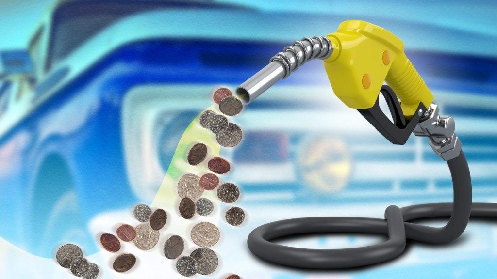 Затраты на топливо