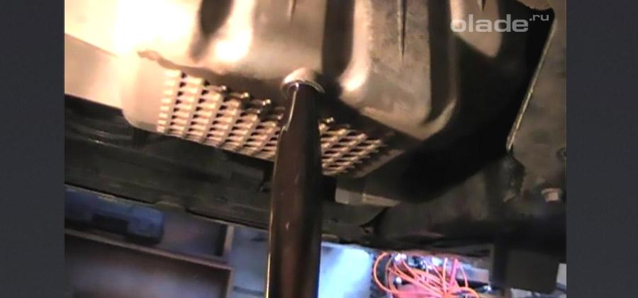 Замена масла в Ладе Весте своими руками. Фото. Видео (фото 11)