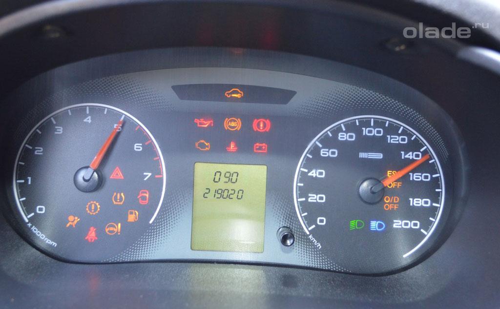 11 16 - Установка датчика температуры наружного воздуха гранта
