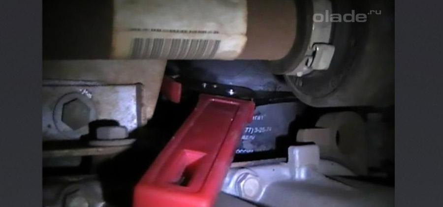 Замена масла в Ладе Весте своими руками. Фото. Видео (фото 15)