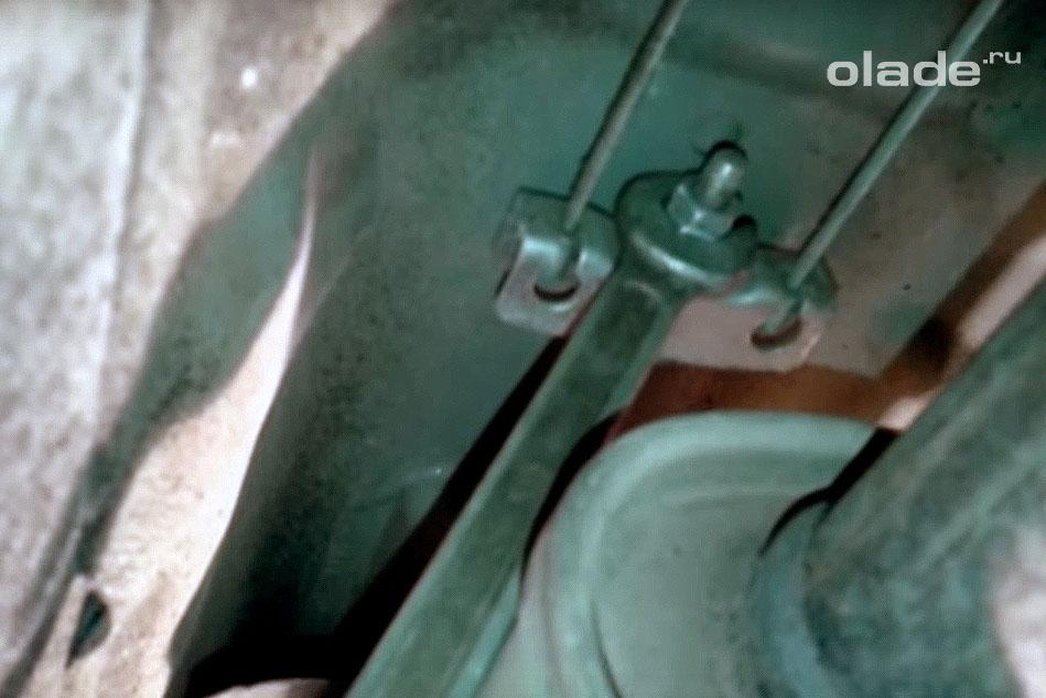 Подтяжка ручника на Ладе Гранта (фото 2)
