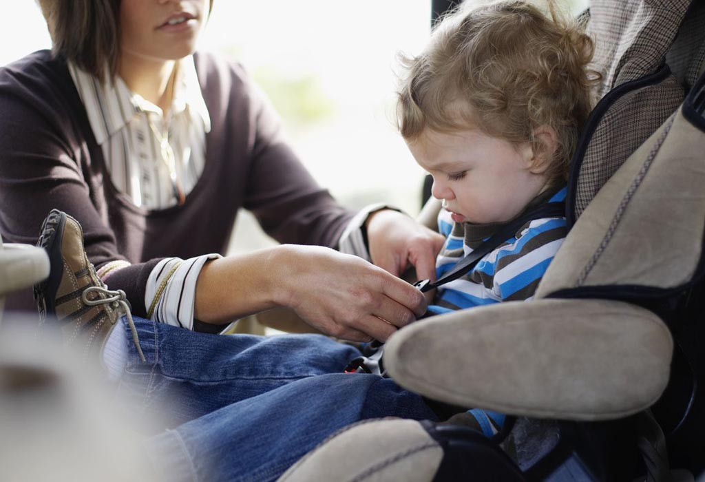 Перевозка ребенка в автомобиле 2