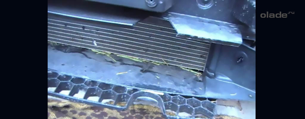Снятие переднего бампера на Ладе Веста, детали и узлы за бампером