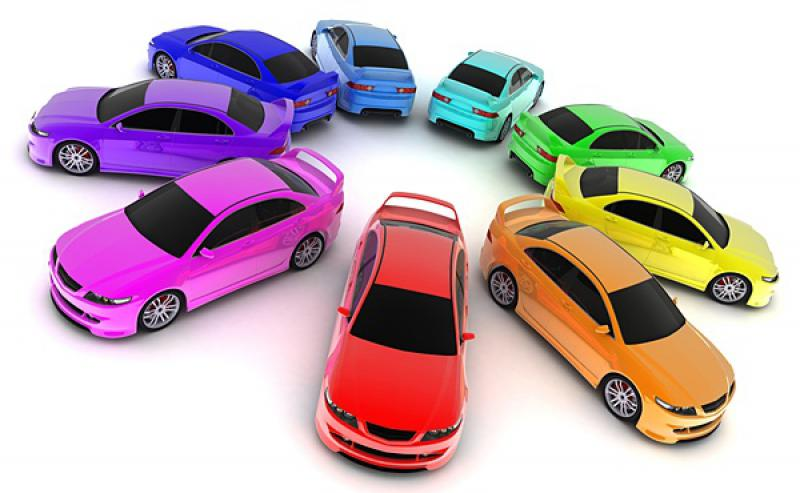 Смена цвета авто