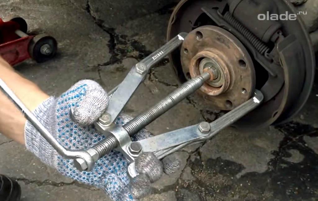 Съемник ступицы форд фокус 2 своими руками