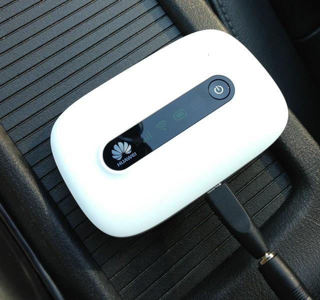 Wi-Fi в машине