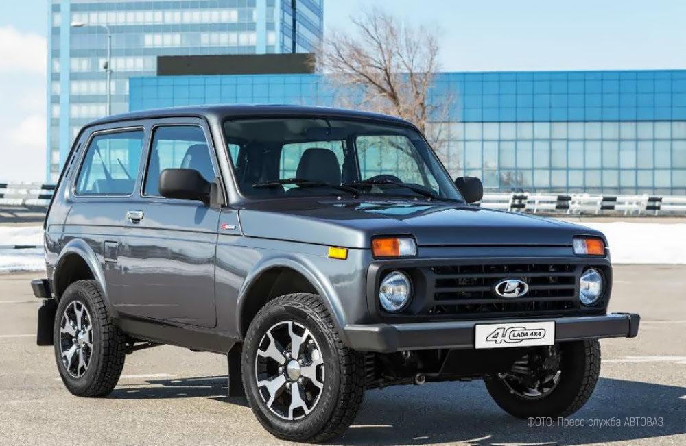 Юбилейная новинка от «АвтоВАЗа» Lada 4x4 Anniversary