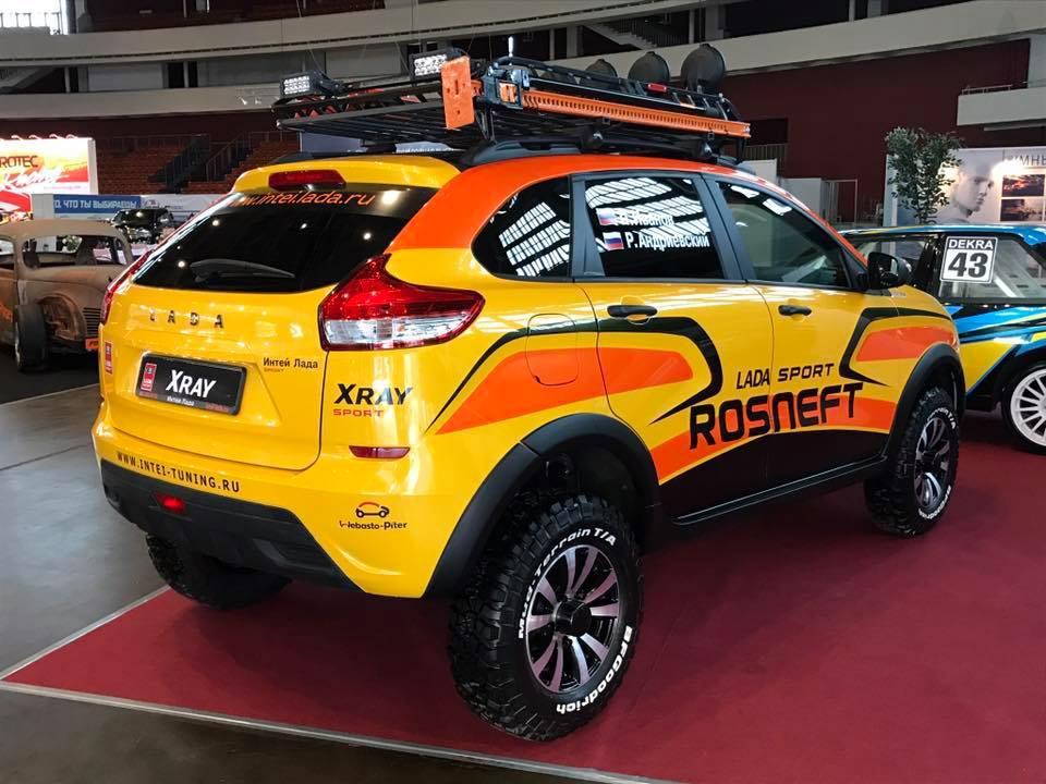 Тольяттинский автогигант представил спортивную версию «Лада ИксРэй»
