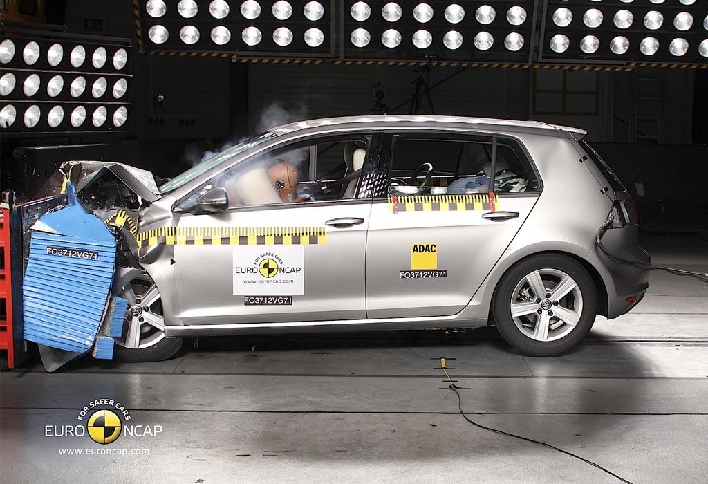 Тест на безопасность автомобиля «Лада Веста», краш-тест