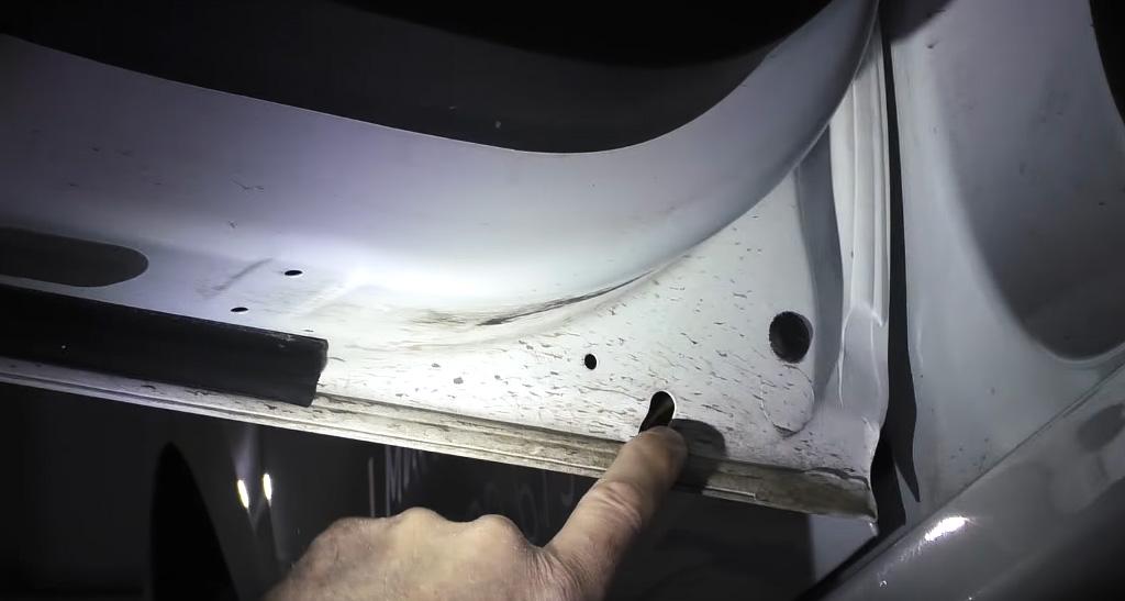 Коррозионная стойкость Lada XRAY: задние двери