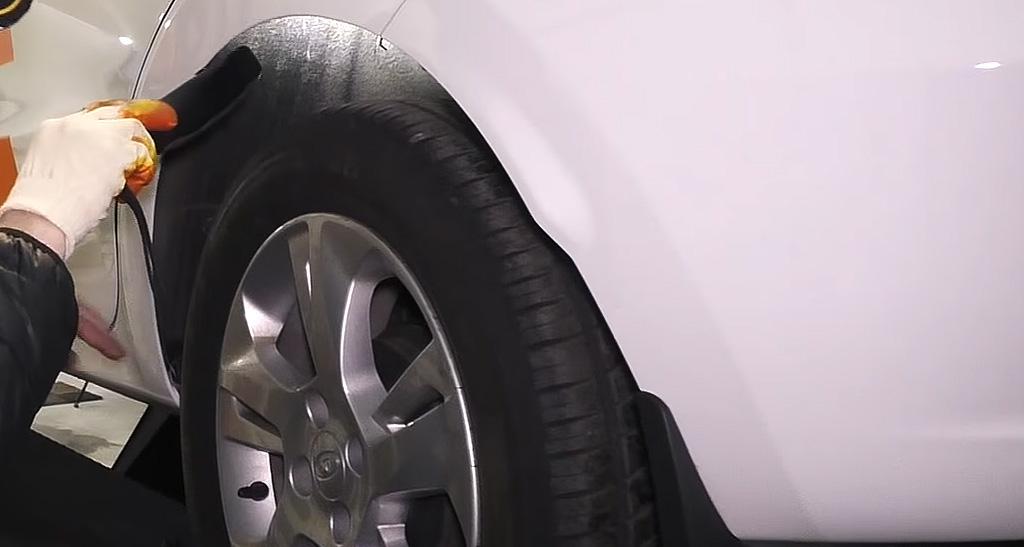 Коррозионная стойкость Lada XRAY: задние колесные подкрылки
