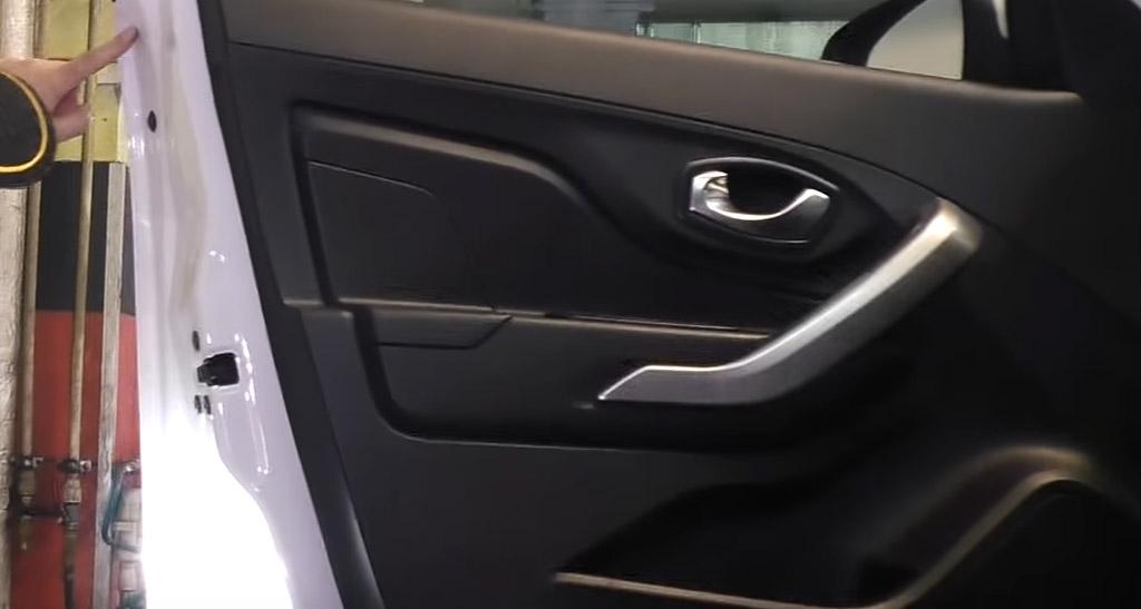 Коррозионная стойкость Lada XRAY: дверные швы