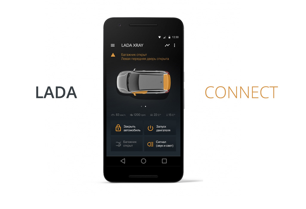 Lada и Chery в процессе разработки телематических систем. Lada Connect