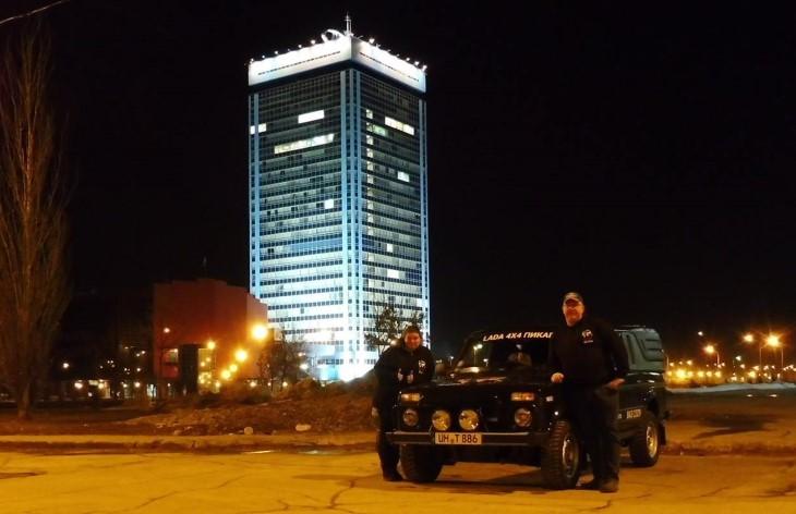 Немцы отметили юбилей Lada 4x4 автопробегом до Тольятти (фото 2)