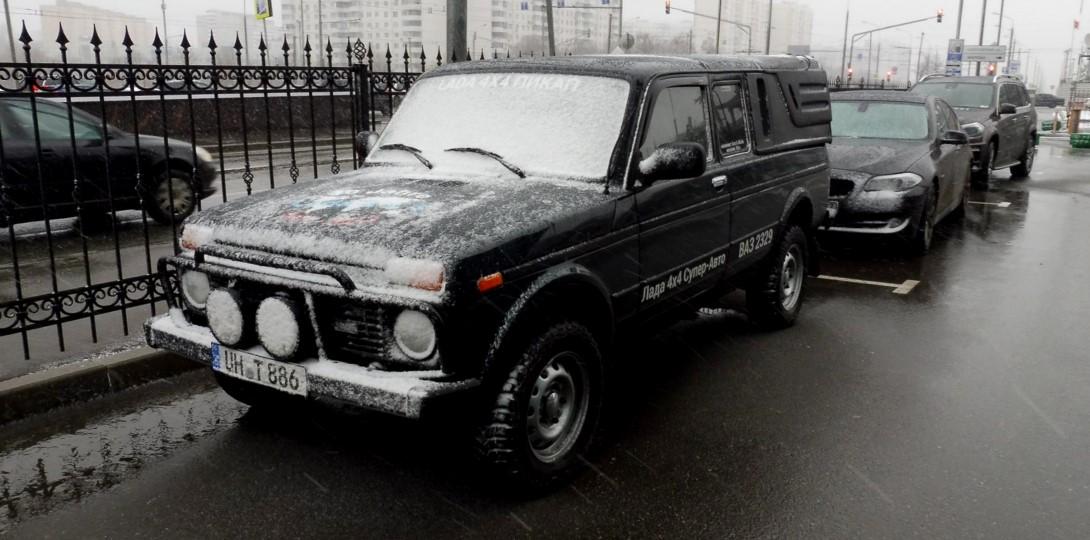 Немцы отметили юбилей Lada 4x4 автопробегом до Тольятти (фото 1)