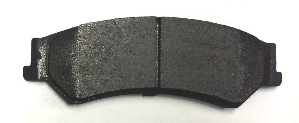 Типы тормозных колодок: полуметаллические тормозные колодки