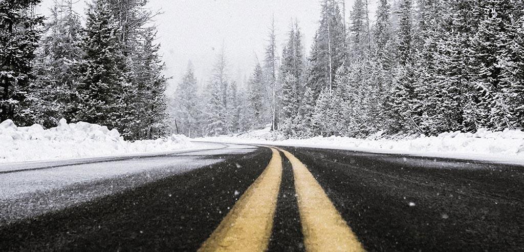 Всесезонные шины. «За» и «против», зимняя дорога