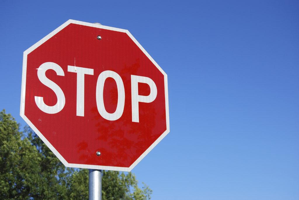 """5 правил дорожного движения, о которых вы могли забыть, знак """"STOP"""""""