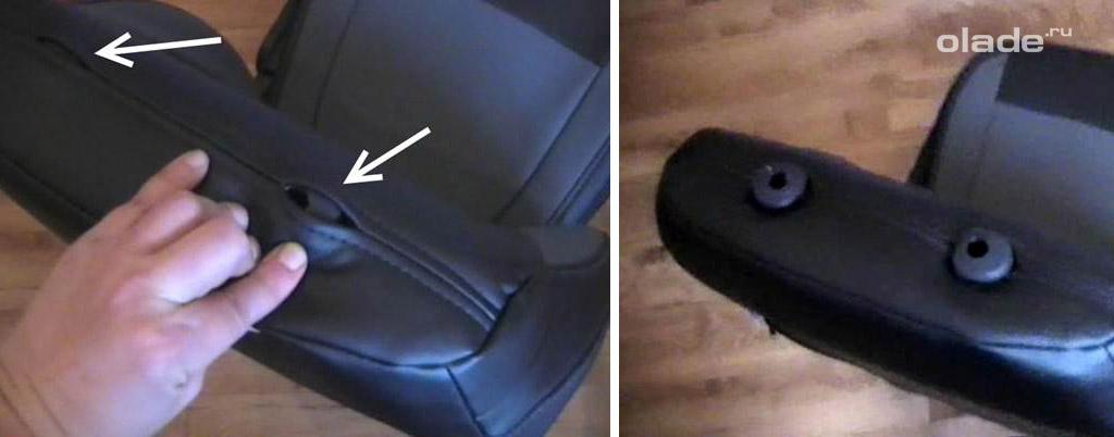 Устанавливаем правильно чехлы на сидения Лада Веста (фото 20)