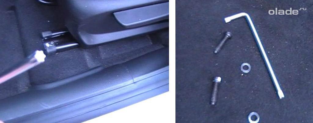 Устанавливаем правильно чехлы на сидения Лада Веста (фото 6)
