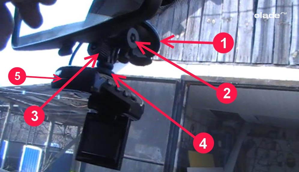 Установка регистратора в автомобиль Лада Веста (фото 5)