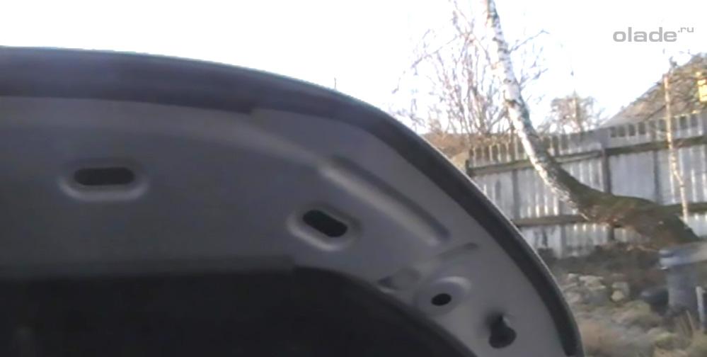 Уплотнитель капота Лада Веста: фото, видео (фото 10)
