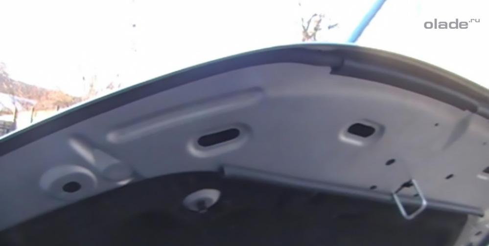 Уплотнитель капота Лада Веста: фото, видео (фото 9)