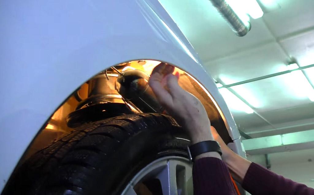 Коррозия на Ладе Веста: передние арки
