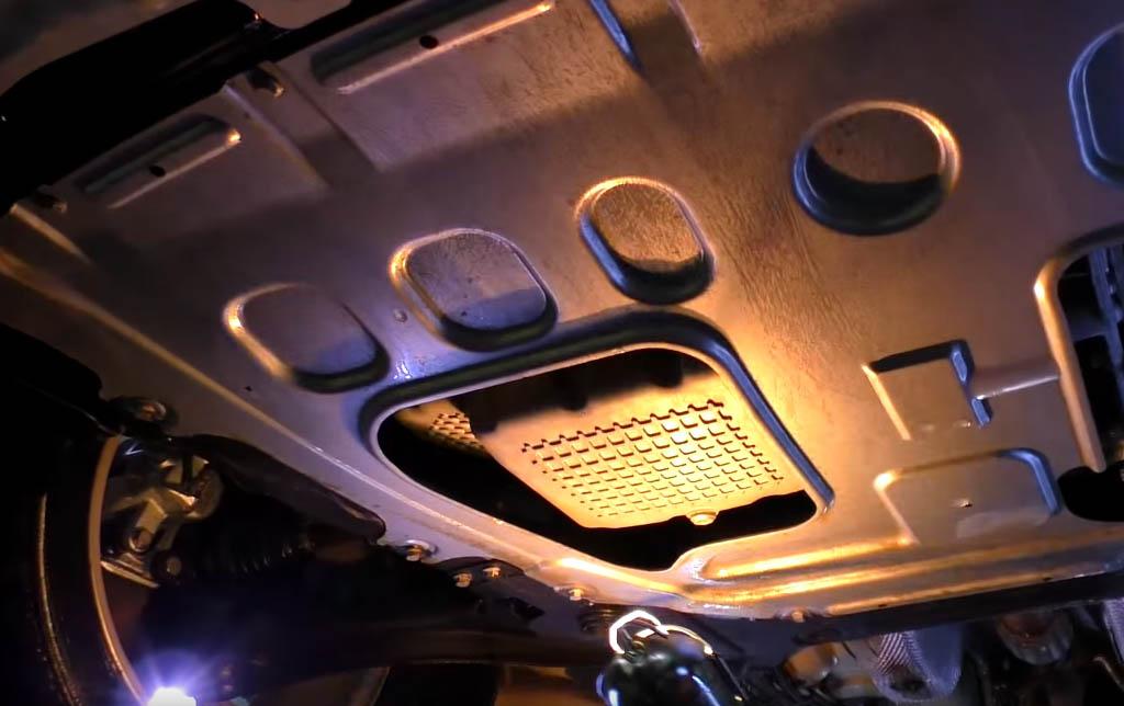 Коррозия на Ладе Веста: защита картера двигателя Лады Веста
