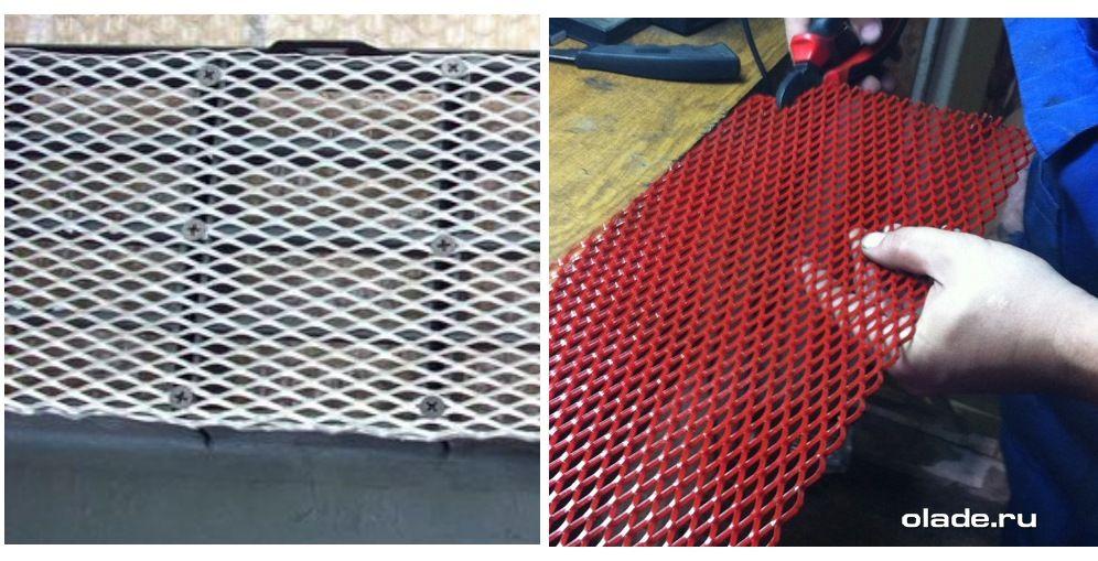 Установка дополнительной сетки на решетку радиатора Лады Веста (фото 1)