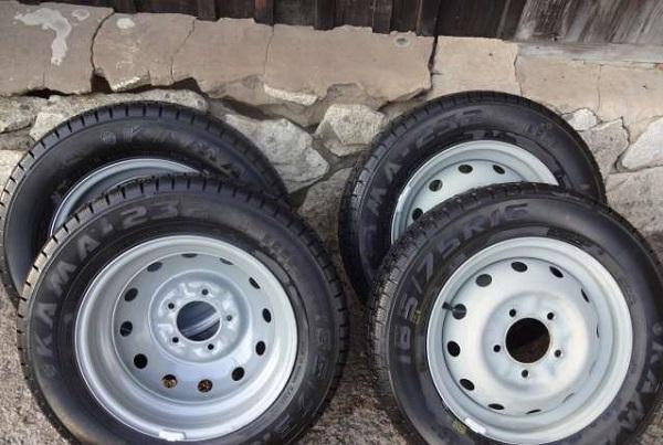 Zavodskie diski Standart - Штатные колеса на ниву размер